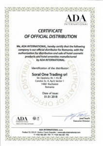 certificate official distribution